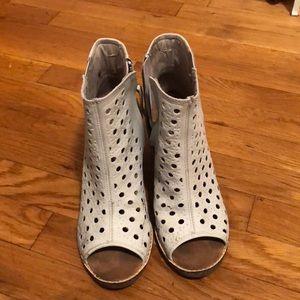 Gently worn TOMS booties